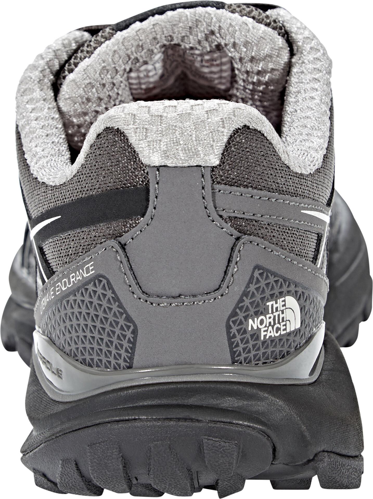 The North Face Litewave Endurance Running Trail Shoes Dame dark gull greyfoil grey